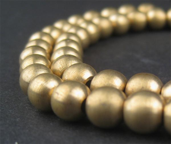 Brass Sphere Beads - The Bead Chest