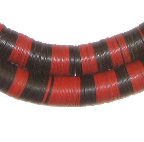 Old Mixed Phono Record Beads (15mm) - The Bead Chest