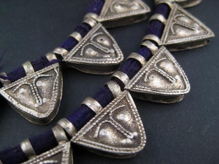 Ethiopian Telsum Face Beads - The Bead Chest