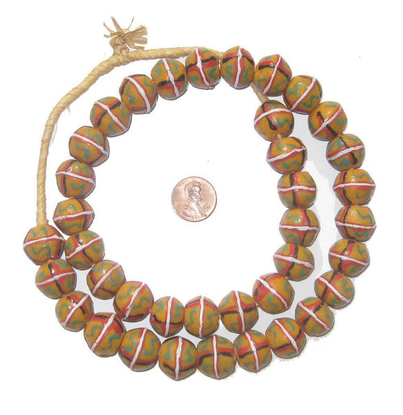 Yellow King Trade Beads