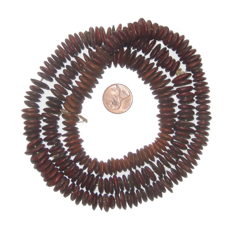 Cawwa Natural Seed Beads from Kenya (Large) - The Bead Chest