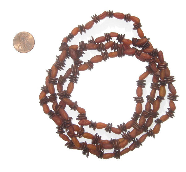 Kenyan Natural Seed Beads Medley
