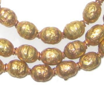 Image of Brass Ethiopian Prayer Beads - The Bead Chest