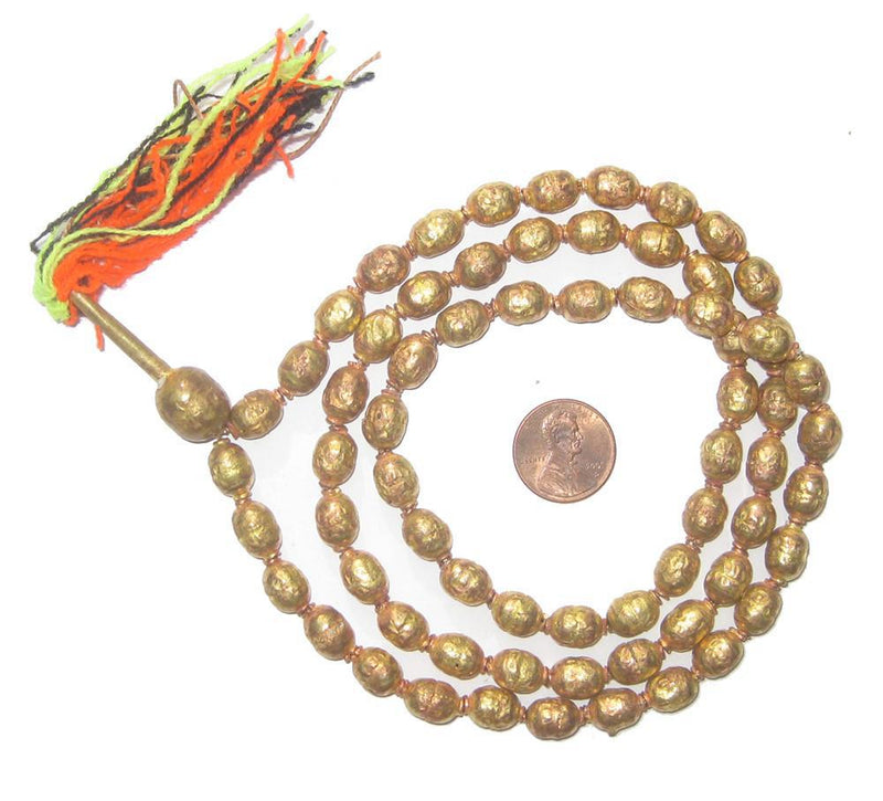 Brass Ethiopian Prayer Beads - The Bead Chest
