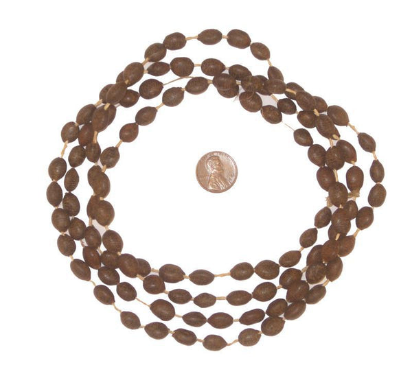Wiio Natural Seed Beads from Kenya