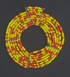African Sun Maasai Beaded Pendant - The Bead Chest