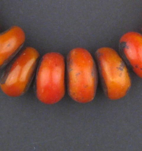 Moroccan Cherry Amber Resin Beads (Petite) - The Bead Chest