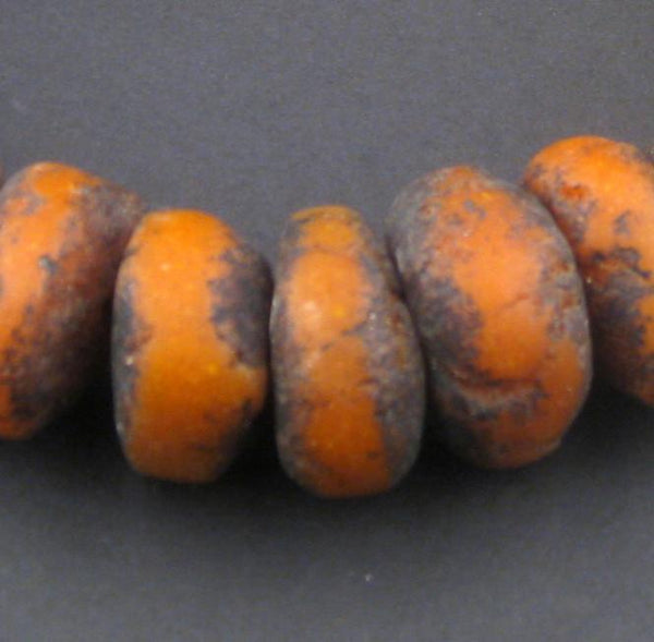 Vintage Coral Moroccan Amber Resin Beads (Petite) - The Bead Chest