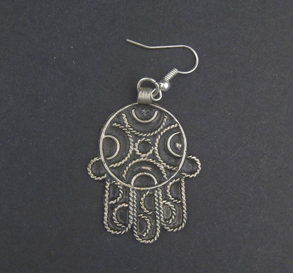 Moroccan Hamsa Earrings