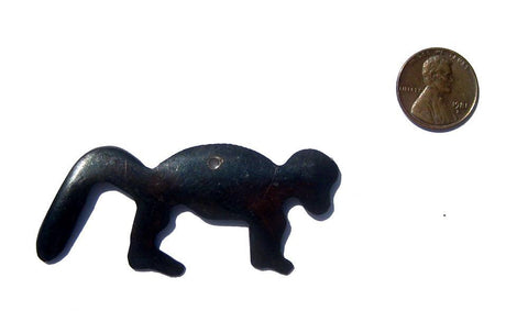 Jungle Monkey Batik Bone Animal Pendant - The Bead Chest