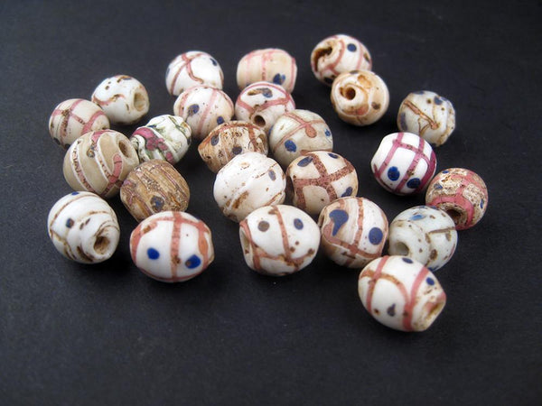 AWAITING REVIEW: Antique Medicine Man African Trade Beads (Loose Bead) - The Bead Chest