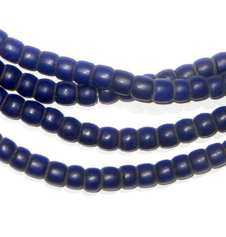 Image of Old Navy Blue Kenya Turkana Beads - The Bead Chest