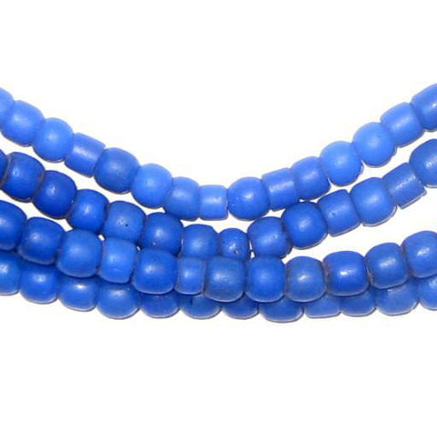 Image of Old Cobalt Blue Kenya Turkana Beads - The Bead Chest
