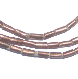 Copper Tube Ethiopian Beads (7x3mm) - The Bead Chest