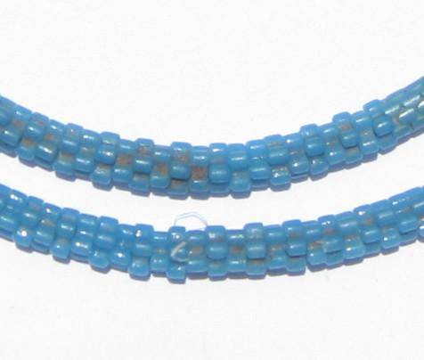 Turquoise Star Snake Beads - The Bead Chest