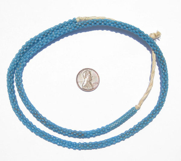 Turquoise Star Snake Beads