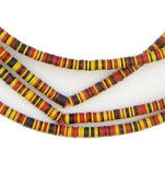 African Medley Vinyl Phono Record Beads (4mm) - The Bead Chest