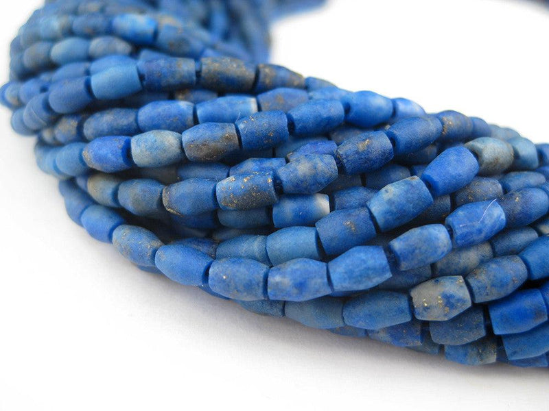 Lapis Lazuli Bicone Beads - The Bead Chest