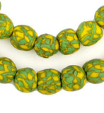 Gecko Fused Recycled Glass Beads (14mm)