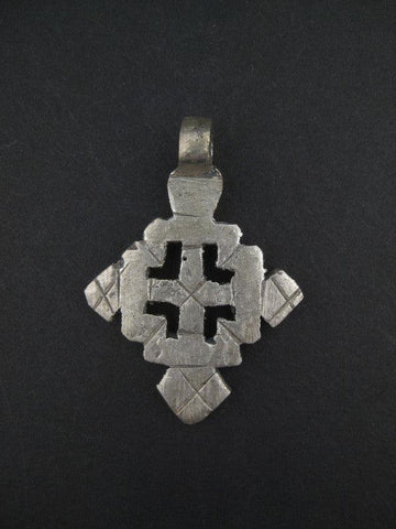 Ethiopian Coptic Cross (Small) - The Bead Chest