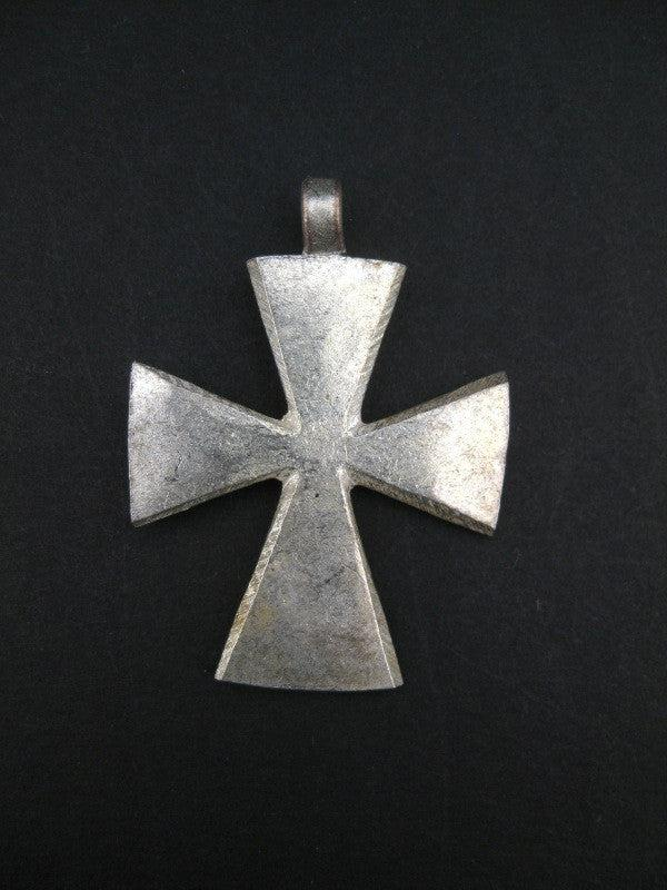 Waldia Ethiopian Cross Pendant - The Bead Chest