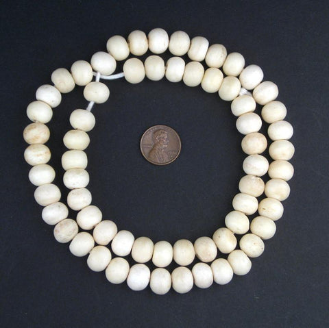 Round Bone Beads (12mm) - The Bead Chest