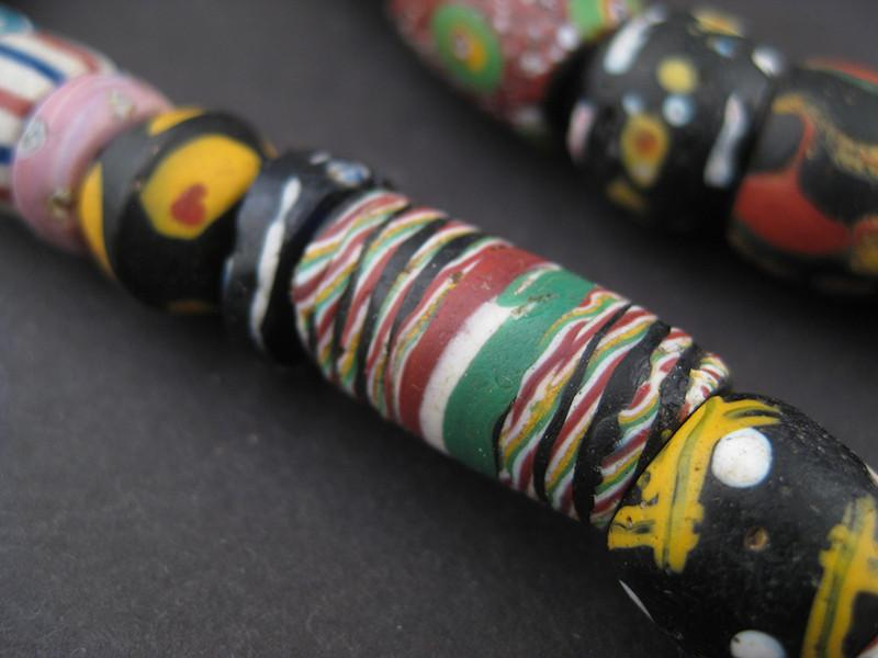 AWAITING REVIEW: Extra Large Antique Venetian Mixed Trade Beads - The Bead Chest