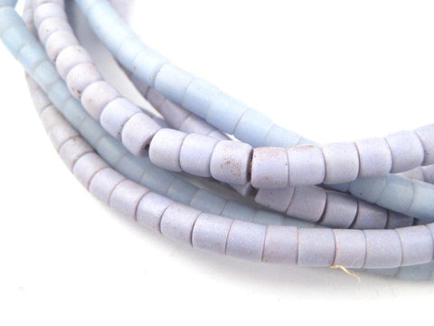 Image of Old Baby Blue Kenya Turkana Beads - The Bead Chest