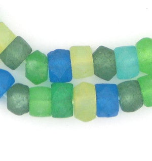 Seaside Medley Recycled Java Sea Glass Beads - The Bead Chest