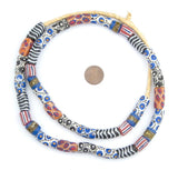 Mixed Multicolor Krobo Powder Glass Beads