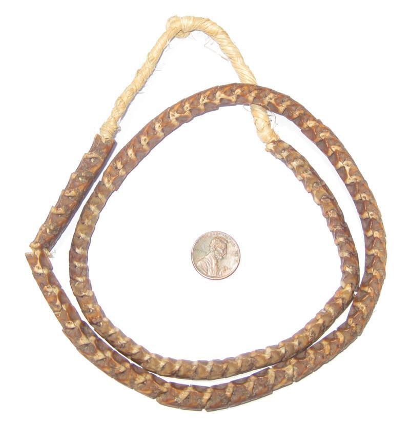 Real Snake Vertebrae Beads from Africa - The Bead Chest