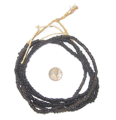 Natural Plant Seed Beads (3 Strands) - The Bead Chest