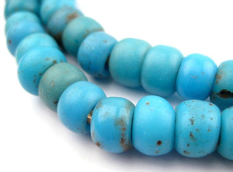 Turquoise Blue Padre Beads - The Bead Chest