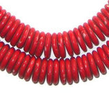 Kakamba Prosser Beads (Red)