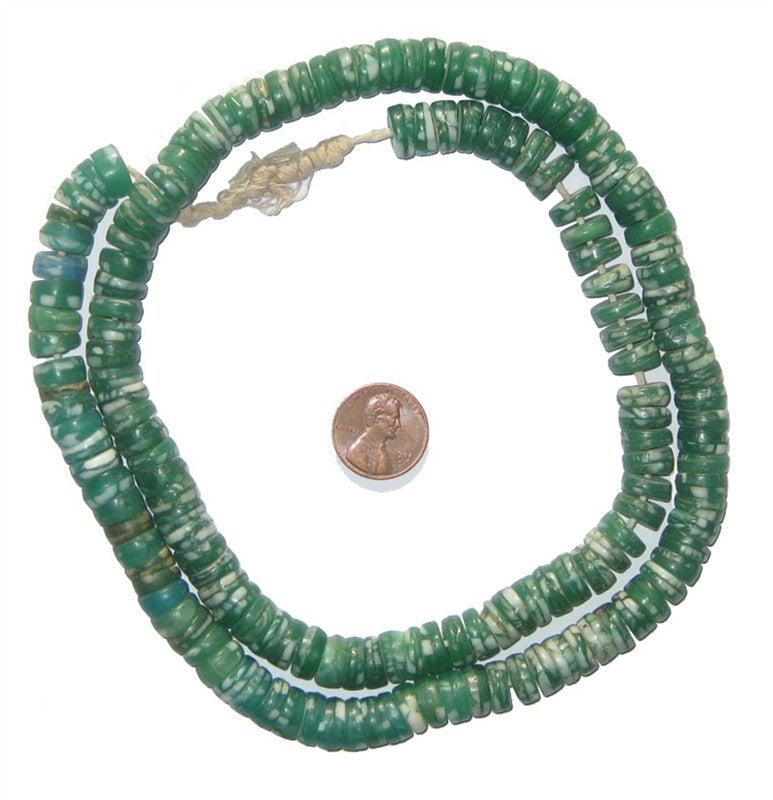Kakamba Prosser Beads (Green) - The Bead Chest
