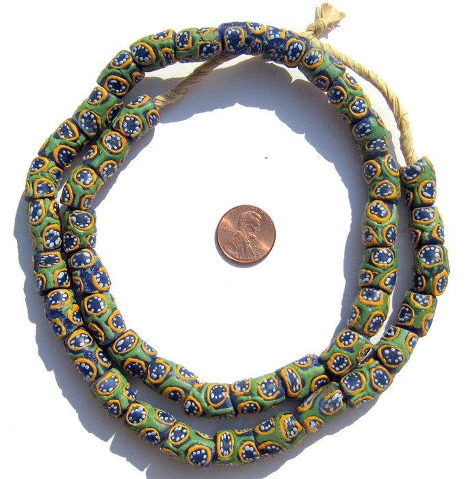 Krobo Fancy Powderglass Beads - The Bead Chest