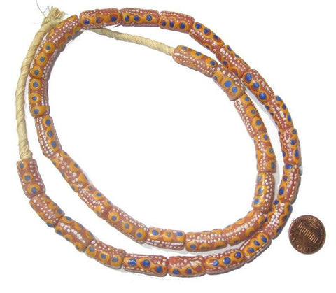 Image of Krobo Fancy Powder Glass Beads - The Bead Chest