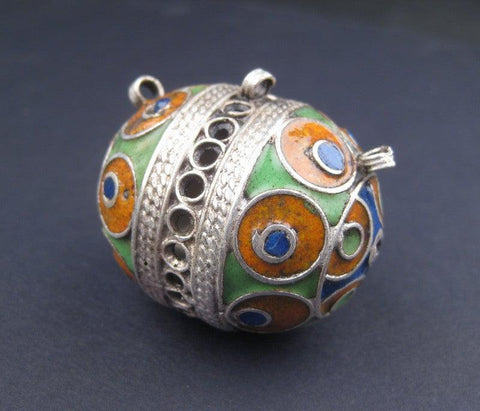 Image of Multicolor Fancy Berber Pendant - The Bead Chest