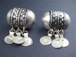 Dangling Berber Pendants (2 pieces) - The Bead Chest