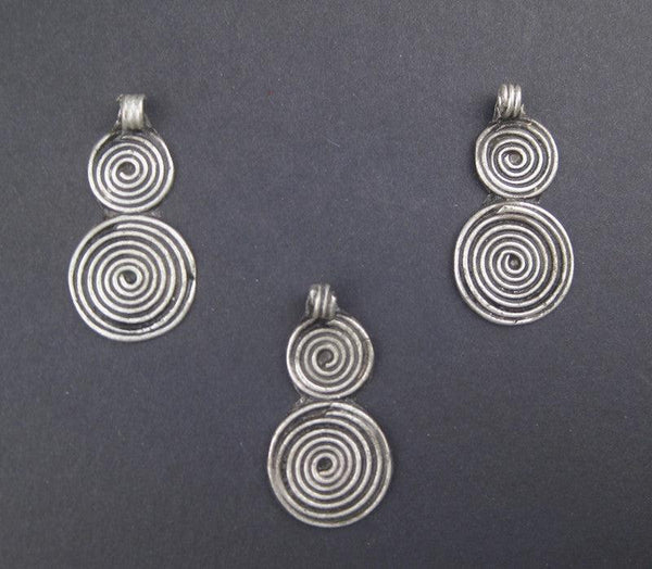 Niello Design Berber Pendants (3 pieces)