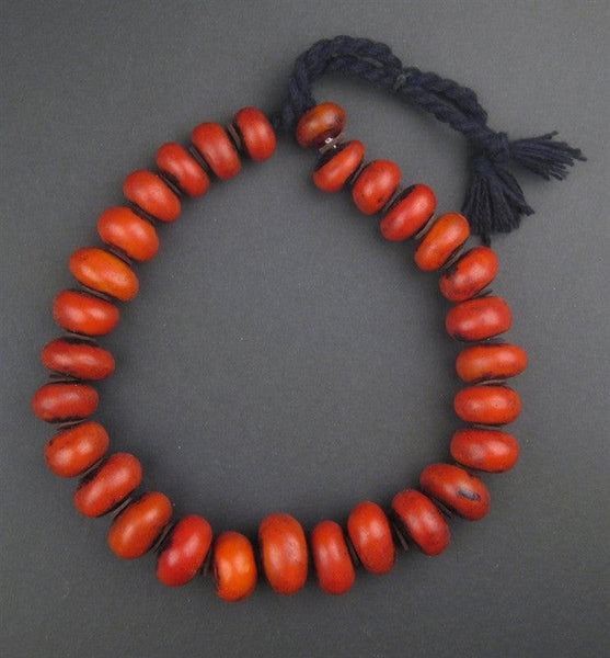 Moroccan Cherry Amber Resin Beads (Petite)