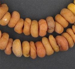 Moroccan Tangerine Resin Beads (Small) - The Bead Chest