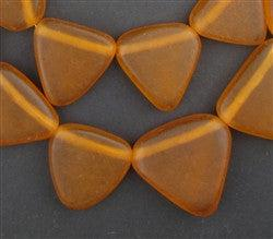 Moroccan Resin Wedding Beads (Tangerine) - The Bead Chest