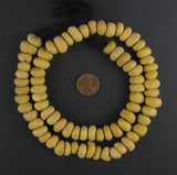 Natural Berber Ceramic Rondelle Beads