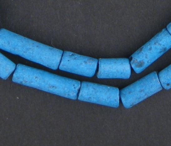 Blue Moroccan Pottery Beads - The Bead Chest