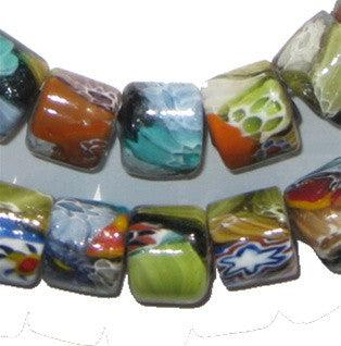 Millefiori Beads (Cylindrical) - The Bead Chest