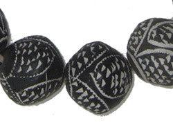 Dogon Mali Clay Spindle Beads (Bicone) - The Bead Chest
