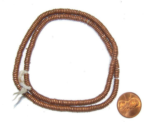 Kenya Copper Heishi Beads - The Bead Chest