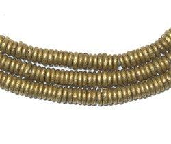 Kenya Brass Heishi Beads - The Bead Chest