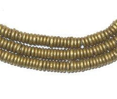 Kenya Brass Heishi Beads